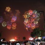 2016 九州最大級 第16回かごしま錦江湾サマーナイト大花火大会は迫力満点でした